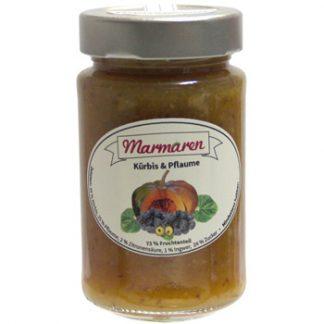 Pflaume mit Kürbis Marmelade
